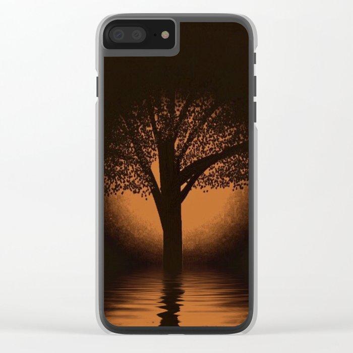 art-77 Clear iPhone Case