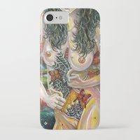 boob iPhone & iPod Cases featuring alcove by Beth Jorgensen