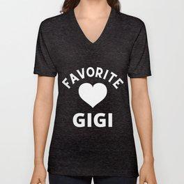 Favorite Gigi Unisex V-Neck
