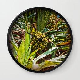 Pandanus Palm Fruit Wall Clock