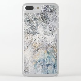 Abstraction Clear iPhone Case