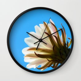 Desert Flower Wall Clock