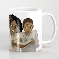 oitnb Mugs featuring Taystee and Poussey OITNB by StephDere