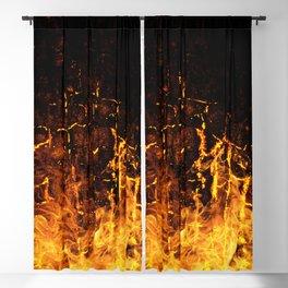 Hot Stuff / Let it burn Blackout Curtain