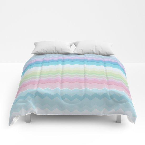 Rainbow pattern Comforters