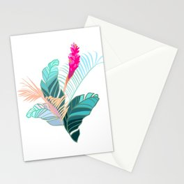 Living in Paradise Stationery Cards