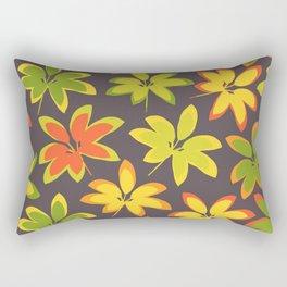 fall season colors Rectangular Pillow