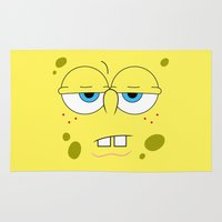 spongebob Area & Throw Rugs featuring SpongeBob by Thorin
