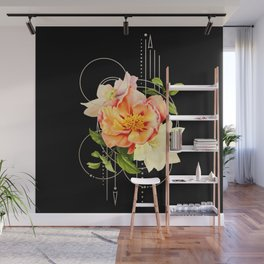 Floral Abstraction Wall Mural