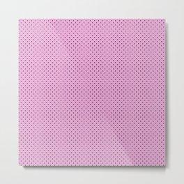 Dots Soft Pink Metal Print