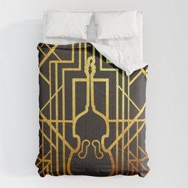 Art Deco Contrabass Comforters