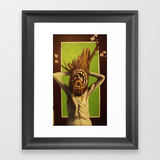 arbol Framed Art Print