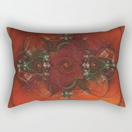 It Came From the West Rectangular Pillow