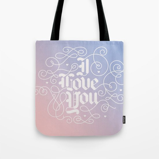 3 Little Words Tote Bag
