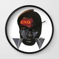childish gambino Wall Clocks featuring Childish Gambino by American Cut