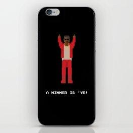 A Winner Is 'Ye! iPhone Skin