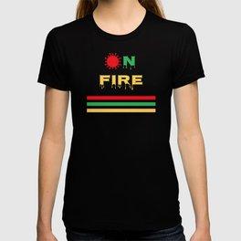 Virus on Fire T-shirt