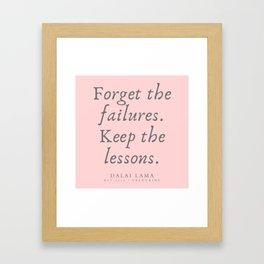 130 | Dalai Lama Quotes 190504 Framed Art Print