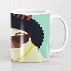 Pug in bling Mug