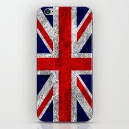 Union Jack Grunge Flag iPhone Skin