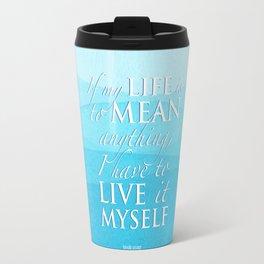 PJO - Live it myself Travel Mug