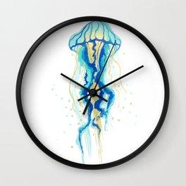 Neptune's Jellyfish Wall Clock