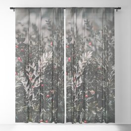 Mistletoe Sheer Curtain