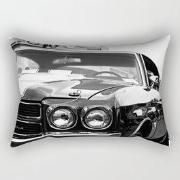 1970 Chevy Chevelle SS - B & W Rectangular Pillow