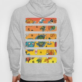 Japanese Collage Hoody