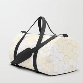 Six corners pattern 20 Duffle Bag
