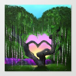 The Love Tree Canvas Print