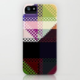 Pattern Multi Color Abstract iPhone Case
