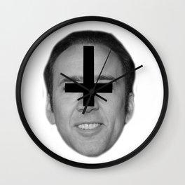 Nicolas Cage // FA$HION Wall Clock