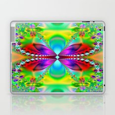 Abstract Jewel Butterfly  Laptop & iPad Skin