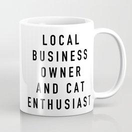 Cat Enthusiast Coffee Mug