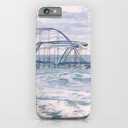Jet Coaster Full Closeup iPhone Case