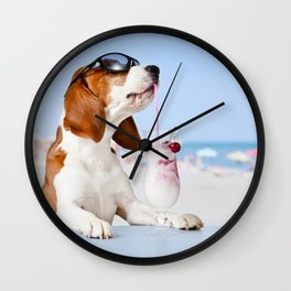 DoggyHour Wall Clock