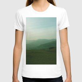 Sunset at Dinas Bran T-shirt