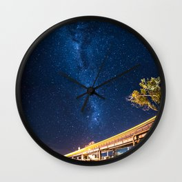 Milky Way Bridge Wall Clock