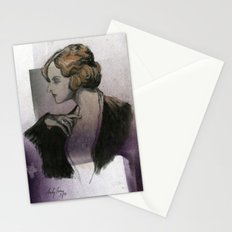 Woman with a Ring Stationery Cards