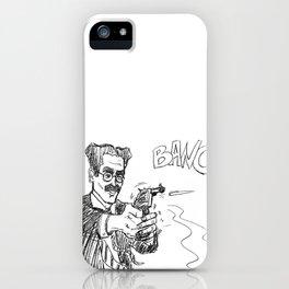 Groucho 2 iPhone Case