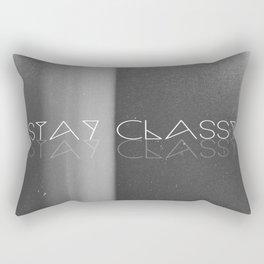 Stay Classy Rectangular Pillow