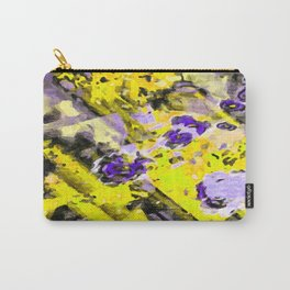 Purple Yellow Passion Carry-All Pouch