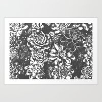 Garden of Stone Art Print