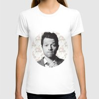 castiel T-shirts featuring CASTIEL by Hands in the Sky