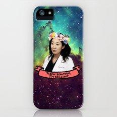 Screw Beautiful, I'm Brilliant  iPhone (5, 5s) Slim Case