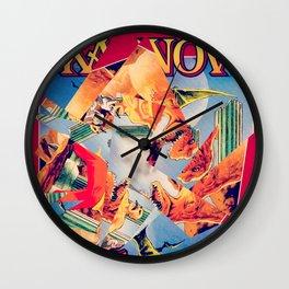 Karnov Wall Clock
