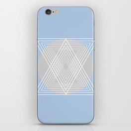 Everything belongs to geometry #7 iPhone Skin