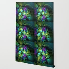 Colorful And Abstract Fractal Fantasy Wallpaper