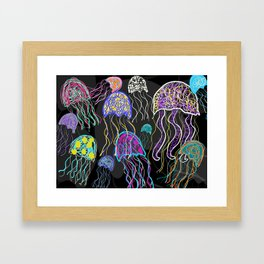 Oh, To be a Jellyfish! Framed Art Print